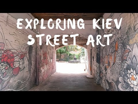 Kiev Street Art Tour - Ukraine