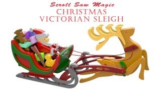 Wood Toy Plans - Victorian Christmas Sleigh