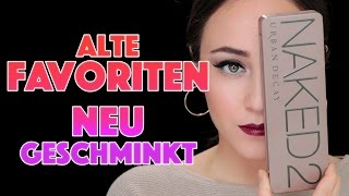 FULL FACE USING OLD FAVS | deutsch | full face Make-up mit alten FAVORITEN | Hatice Schmidt