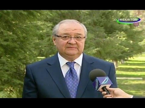 Интервью Министра иностранных дел А.Камилова