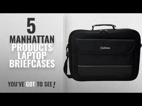 Manhattan Products Laptop Briefcases [2018]: Manhattan 421560 Notebook Briefcase