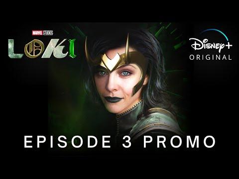 Marvel Studios' LOKI | EPISODE 3 PROMO TRAILER | Disney+