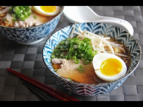 Ramen Recipe - Japanese Cooking 101