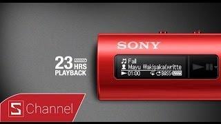 Schannel - Mở hộp Walkman NWZ-B183F: Máy nghe nhạc giá rẻ, nhiều màu sắc mới của Sony