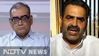 'Hang netas,' says Justice Markandey Katju; 'you're the idiot,' says BJP minister