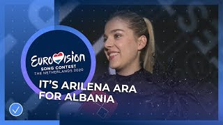 Arilena Ara will travel to Rotterdam for Albania 🇦🇱 - Eurovision Song Contest 2020