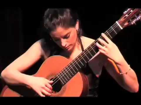 Four Pieces part1 Astor Piazzolla by Ana Vidovic at Zuidlaren Guitar Festival