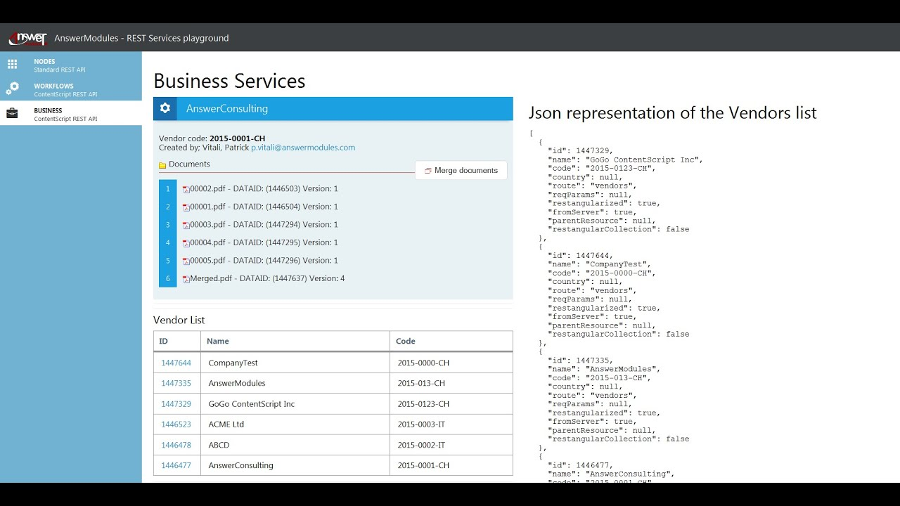 Content Server REST APIs - a practical introduction to usage and extension