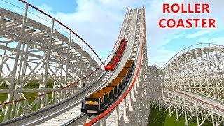 Roller Coaster No Limits 2 Simulation Game PC Gameplay