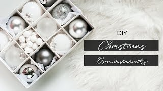 DIY CHRISTMAS TREE ORNAMENTS | Minimal Christmas Decor