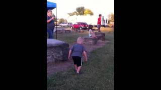 Random dancing boy in Livermore, KY