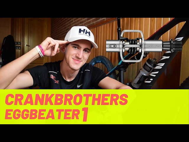 Review Crankbrothers Egg Beater 1 (Mejores pedales gama media/baja 2021) Español