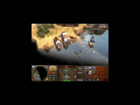Age Of Empires - Dutch Walkthrough - EP02 - Into the caves(Try 1)