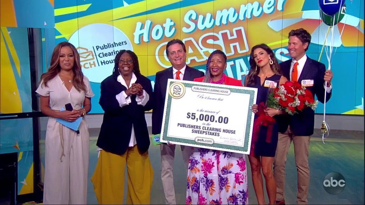 Hot Summer Cash Sweepstakes, Day 3   The View