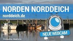 Neue Webcam direkt am Hafen von Norddeich mit Blick auf das Wattenmeer