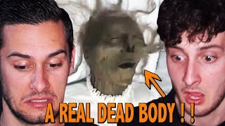 PAUL AND TOM REACT TO ' My Dead Great Grandma's Coffin in My Own Backyard! '