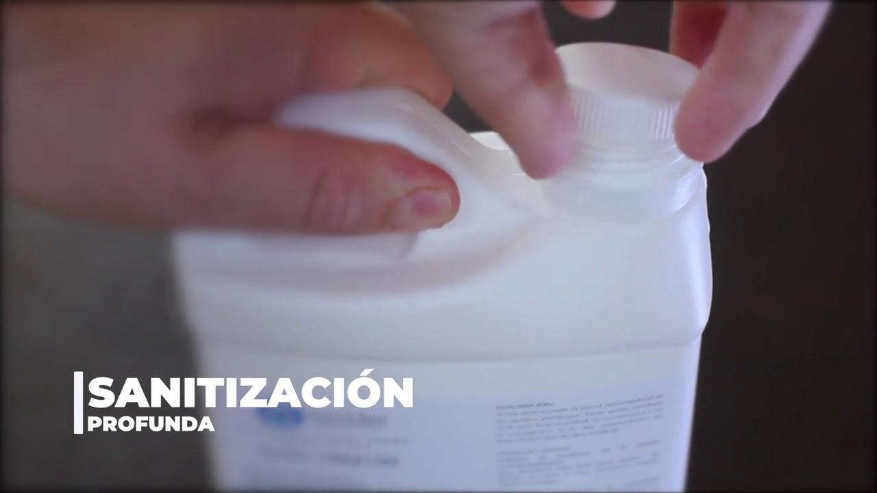 Sanitizante para Termonebulizar