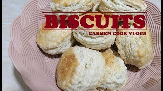 BISCUITS | Carrmen Cook Vlogs