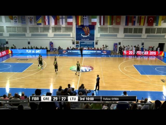 U18: ΗΜΙΤΕΛΙΚΟΣ, ΕΛΛΑΔΑ - ΛΙΘΟΥΑΝΙΑ 68-58. Το video ολόκληρου του ημιτελικού αγώνα της εθνικής ομάδας, που δημοσίευσε η Eλληνική Oμοσπονδία στο επίσημο yt κανάλι της
