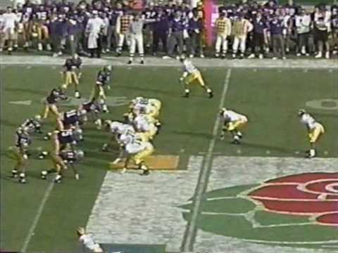 1993 Rose Bowl: Michigan 38 Washington 31 (PART 1)