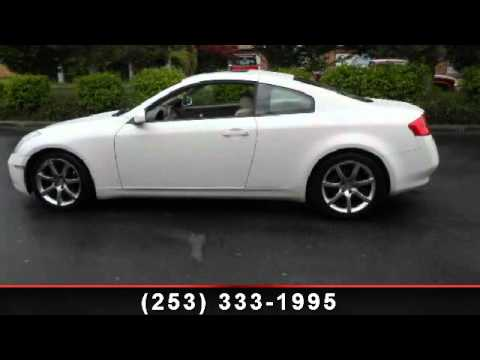 2004 infiniti g35 coupe my town motors auburn wa for My town motors auburn wa