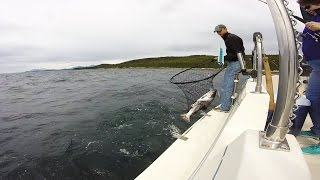 Salmon Fishing with Rum Runner Charters in Juneau, AK