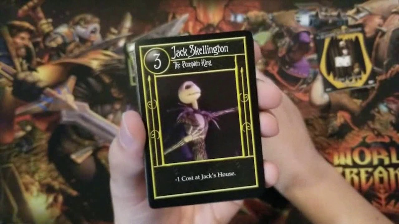 Box Opening: The Nightmare Before Christmas TCG - Jack Skellington ...