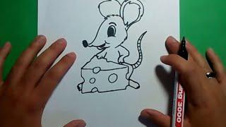 Como dibujar un raton paso a paso 7 | How to draw a mouse 7