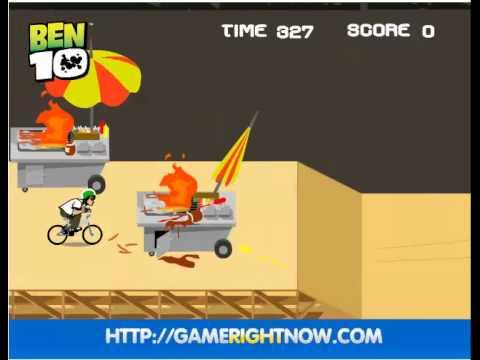 เกมส์เบ็นเท็นขี่จักรยาน