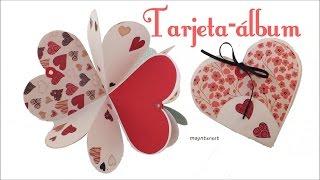Resultado de imagen para Tarjeta en cascada para San Valentín