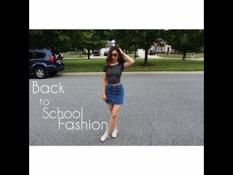 BACK TO SCHOOL FASHION // BEL AIR BEAUTY