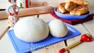 Тесто на кефире для пирожков — видео рецепт