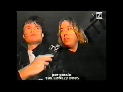 The Lonely Boys- Per Gessle  interview 1995 Z tv Sweden