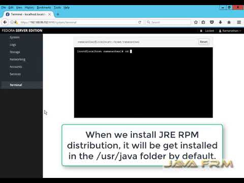 Java 9 (Oracle JRE 9), How to install in Fedora Server 26