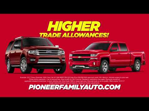 The Time is Now at Pioneer Chevrolet - The Giant on the Pike! - (740) 373-9127