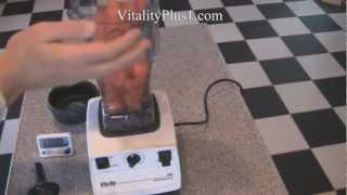 Vita-mix Blender Test Goes Up Against 3 Powerful Blenders