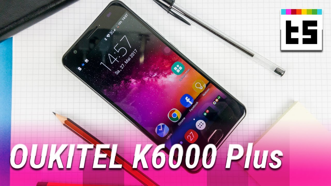 test oukitel k6000 plus china handy mit fettem akku youtube. Black Bedroom Furniture Sets. Home Design Ideas