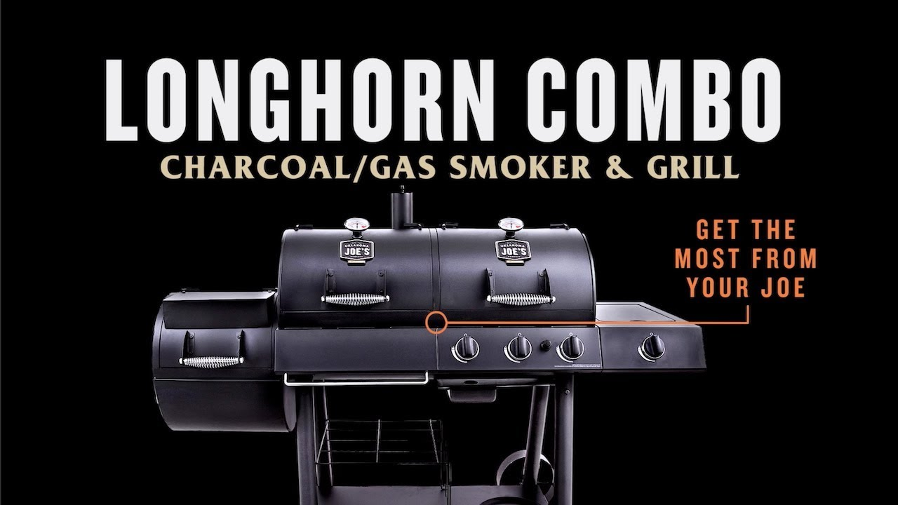 Longhorn Combo Charcoal/Gas Smoker & Grill – Get the Most From ...