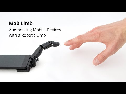 Smartphone with a finger? - Augmenting Mobile Devices with a Robotic Limb