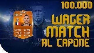 FIFA 15 I Favor1te VS Al Capone | WAGER 100.000 coins