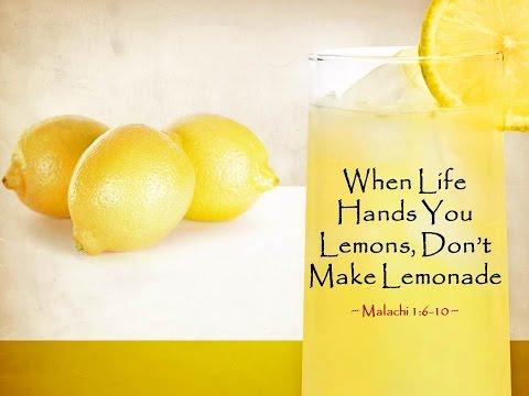 Giovani Vélez- When Life Hands You Lemons, Don't Make Lemonade