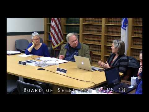 Board of Selectmen 02.26.18