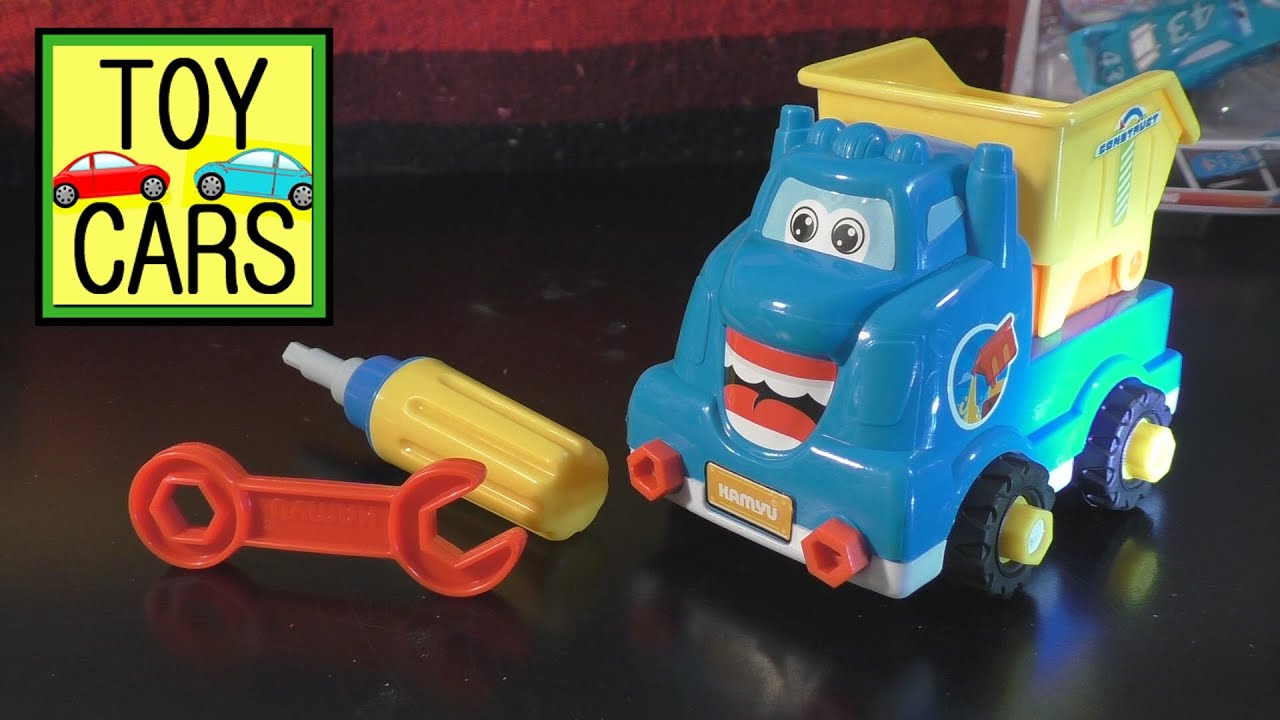 Awesome Dollar Store TOY CARS Construction DUMP TRUCK Kids