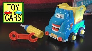 Awesome Dollar Store TOY CARS Construction DUMP TRUCK Kids Imagination!