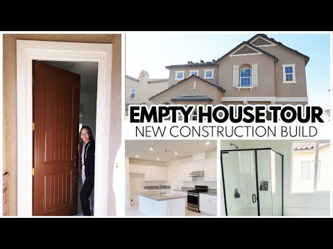 EMPTY HOUSE TOUR 2021 | NEW CONSTRUCTION BUILD | WE BOUGHT OUR FIRST HOUSE