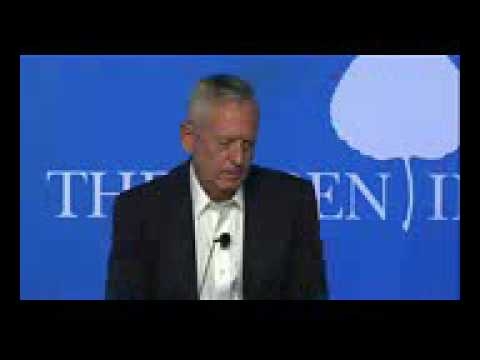 US CENTCOM Commander James Mattis on IRAN