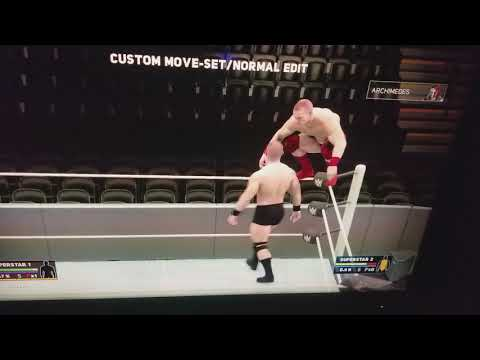 WWE2K18 | Carrying System: From Powerbomb Position To Placing Opponent On Turnbuckle | Practice Mode