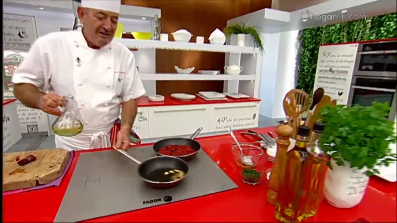 Karlos argui ano en tu cocina merluza con panaderas y for Cocina carlos arguinano
