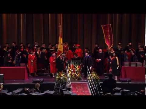 2013 USC School of Social Work Commencement