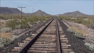 Train Derailment Site AMTRAK SUNSET LIMITED - DRIVING to EXPLORE UNSOLVED MYSTERIES in the desert
